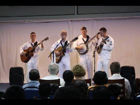 U.S. Navy Band performs 'Assalamualaikum Ustazah'