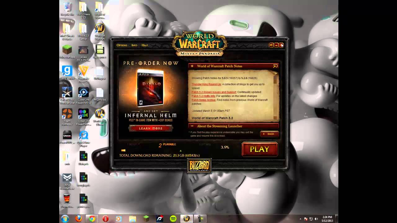 Wow patch download 3.2.2a