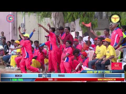 1ST SEMIFINAL | MOSKH VS RIVAAJ | ANAND CUP 2017 PAREL LIVE