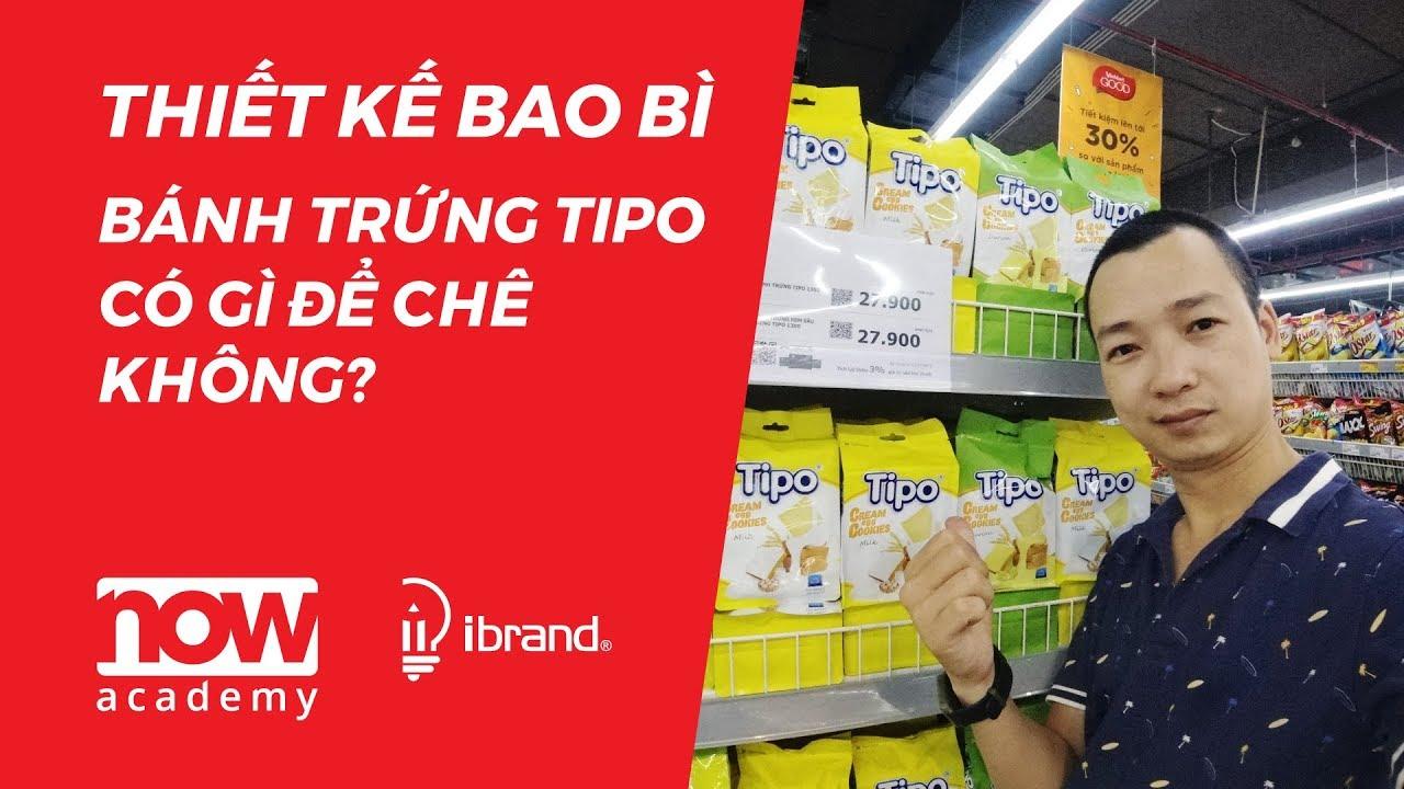 Thiết kế bao bì bánh trứng TIPO có gì để chê không ? #6 – Egg Cakes Packaging Design |  Now Academy