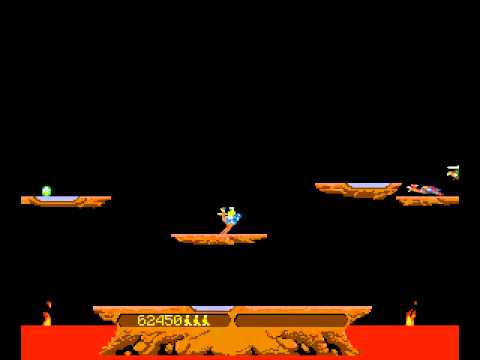 Arcade Game: Joust (1982 Williams)