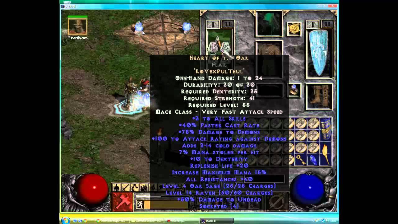 Diablo 2 Godly Hammerdin Bot Guide - Review - YouTube