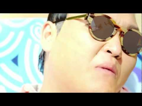 The word: Gangam style - PSY
