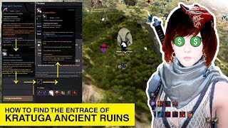 HOW TO ENTER KRAṪUGA ANCIENT RUINS BLACK DESERT ONLINE