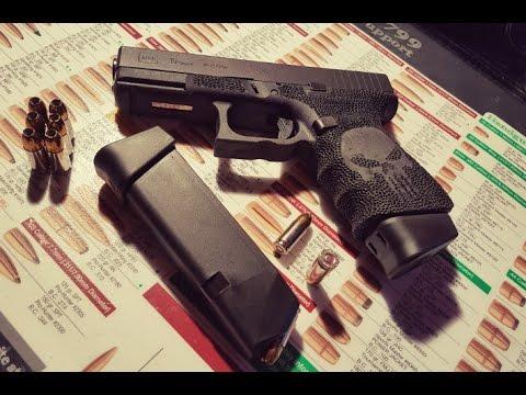 Tuto : stippling sur Glock 19 + logo Punisher