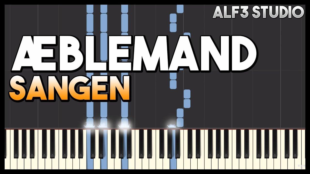 Æblemand Sang - Piano Tutorial