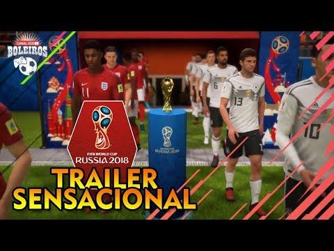 O INSANO NOVO TRAILER DO FIFA WORLD CUP!! ANÁLISE E NOVIDADES!!