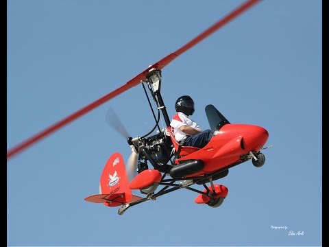 Air Command Gyroplane with Dennis Fetters Hot-Dogging