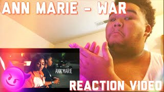Ann Marie - War [Official Music Video] | REACTION | SHES TALENTED ASF!