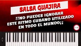 Curso de Piano  Musica Cristiana Clase 16 - Ritmo de Salsa Guajira