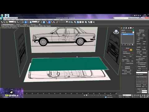 Kurs video 3ds max - modelowanie i rendering samochodu