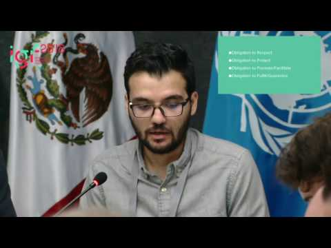 IGF 2016 - day 1 - WK 6 - WS266: The right to access the Internet in Latin America