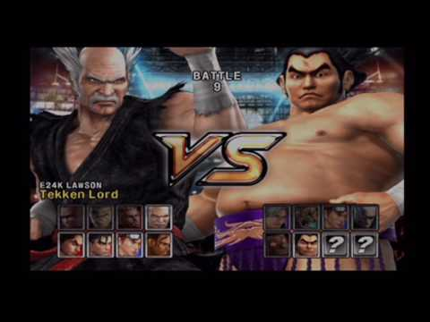 E24K's Tekken 5 - Team Battle #20 [ULTRA HARD]