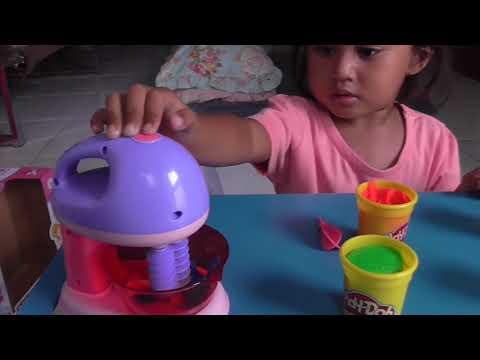 Main Masak Masakan - Mainan Anak Blender Playdoh
