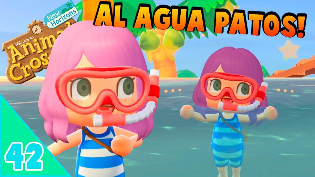 🏝️ HA LLEGADO LA HORA DEL CHAPUZÓN!🌊 - ANIMAL CROSSING NEW HORIZONS - # 42