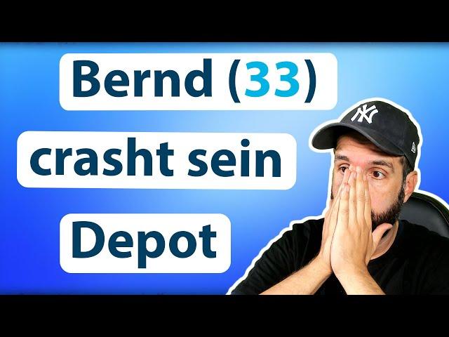 Bernd (33) crasht sein Aktien Depot 😱📉