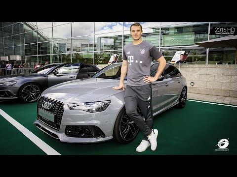 New Audi RS6 - RS7 - S8 Plus for FC Bayern München Stars