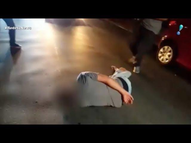 Homem fica ferido após confusão em frente ao Instituto Lula