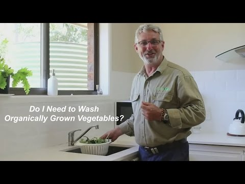 Do I Need to Wash Organically Grown Vegetables?