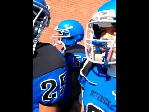 Patterson high school football warm up 2011