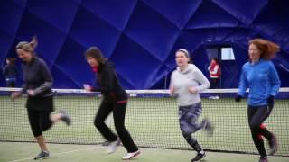 EBA2020 Cardio Tennis at CIYMS Belfast