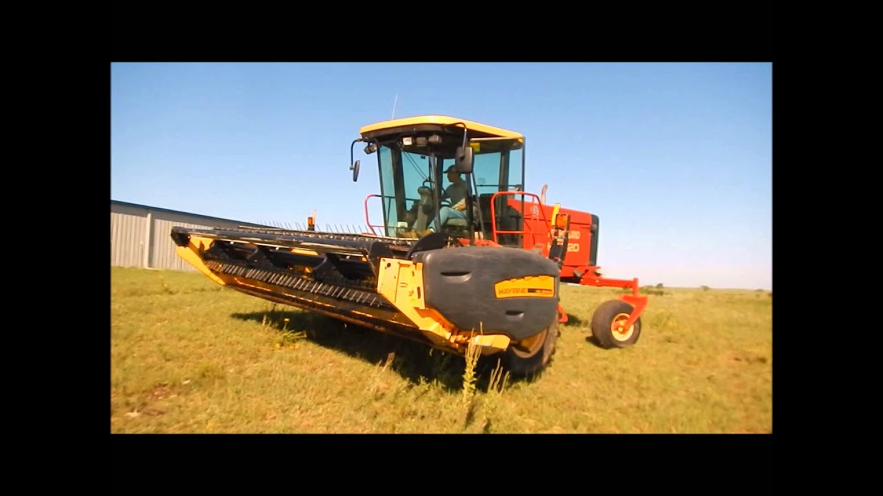New Holland Hw320 Self Propelled Swather For Sale