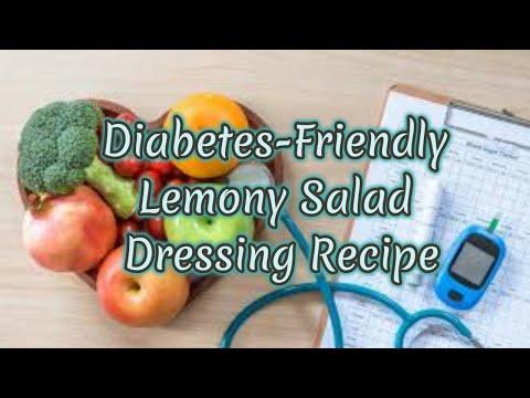 Diabetes-Friendly Lemony Salad Dressing Recipe   Health & Fitness good