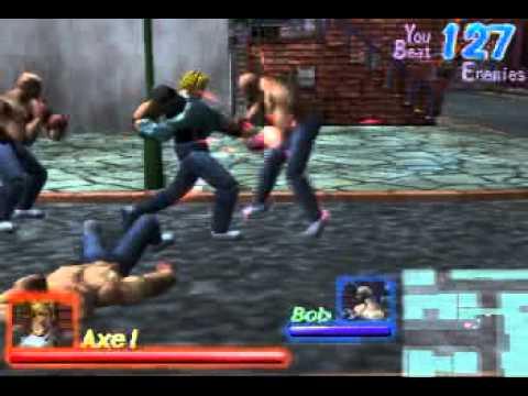 Streets of Rage Dreamcast Demo by Sega of Japan