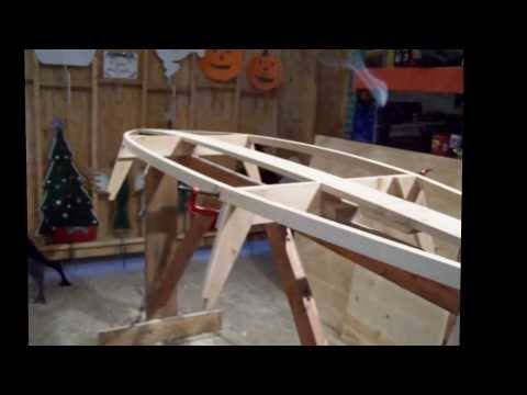Huntington Harbor Kayak Built From Free Plans Part 1
