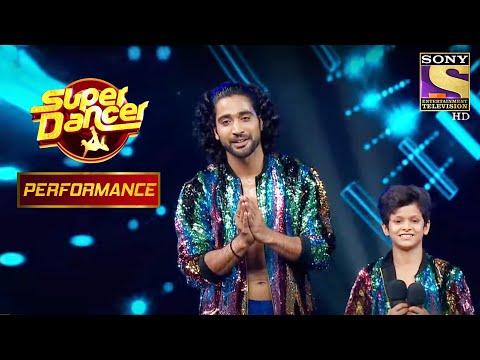 "Sanam And Jay's Artistic Performance On ""Badan Pe Sitare Lapete Huye"" | Super Dancer"