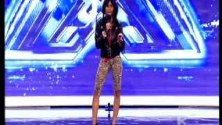 Shalena Johnson X-Factor [SO FUNNY] August 2010