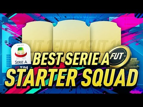 AMAZING FIFA 19 STARTER SQUAD - SERIE A IS CRAZY THIS YEAR!