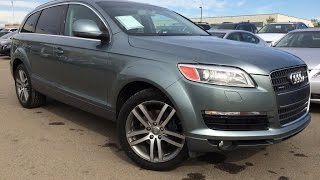 Pre Owned Grey 2007 Audi Q7 quattro 4.2L Premium In Depth Review | Slave Lake Alberta