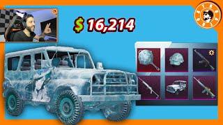 تفتيح صناديق السيارة الثلجية ❄ بقيمة 16,214 $ الف شدة😍 و توزيع شدات للمشاهدين🎁 PUBG MOBILE