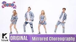 [Mirrored] KARD(카드)_'Hola Hola' Choreography(거울모드 안무영상)_1theK Dance Cover Contest