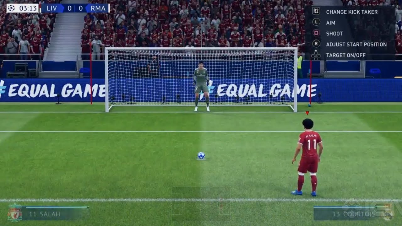 FIFA 19 GAMEPLAY | Champions League Final Liverpool vs Real Madrid ...