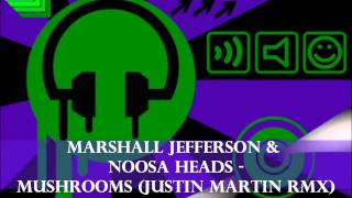 Marshall Jefferson & Noosa Heads - Mushrooms (Justin Martin Rmx)