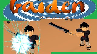 ROBLOX: Gaiden OA ROAD TO TRAINING