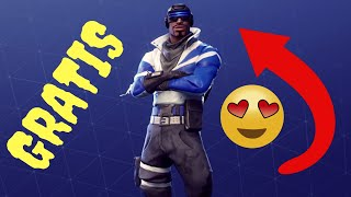 FORTNITE - NEW FREE SKIN FOR PS [BLU PERCUSSORE]