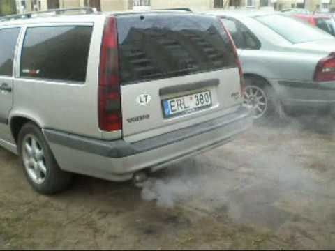 volvo 850 2 5 tdi engine start youtube. Black Bedroom Furniture Sets. Home Design Ideas