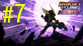 Ratchet & Clank Into the Nexus Walkthrough - Part 7 Planet Thram Gameplay HD