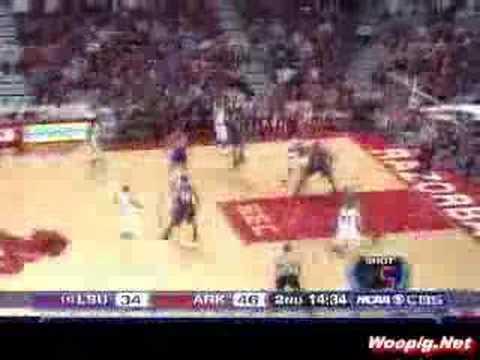 Arkansas vs. LSU Basketball 2007