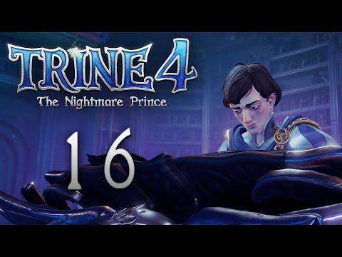 Trine 4: The Nightmare Prince - Кооперативное прохождение игры - Золотой сад [#16] | PC