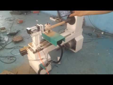 Small cnc wood lathe machine,very quick speed
