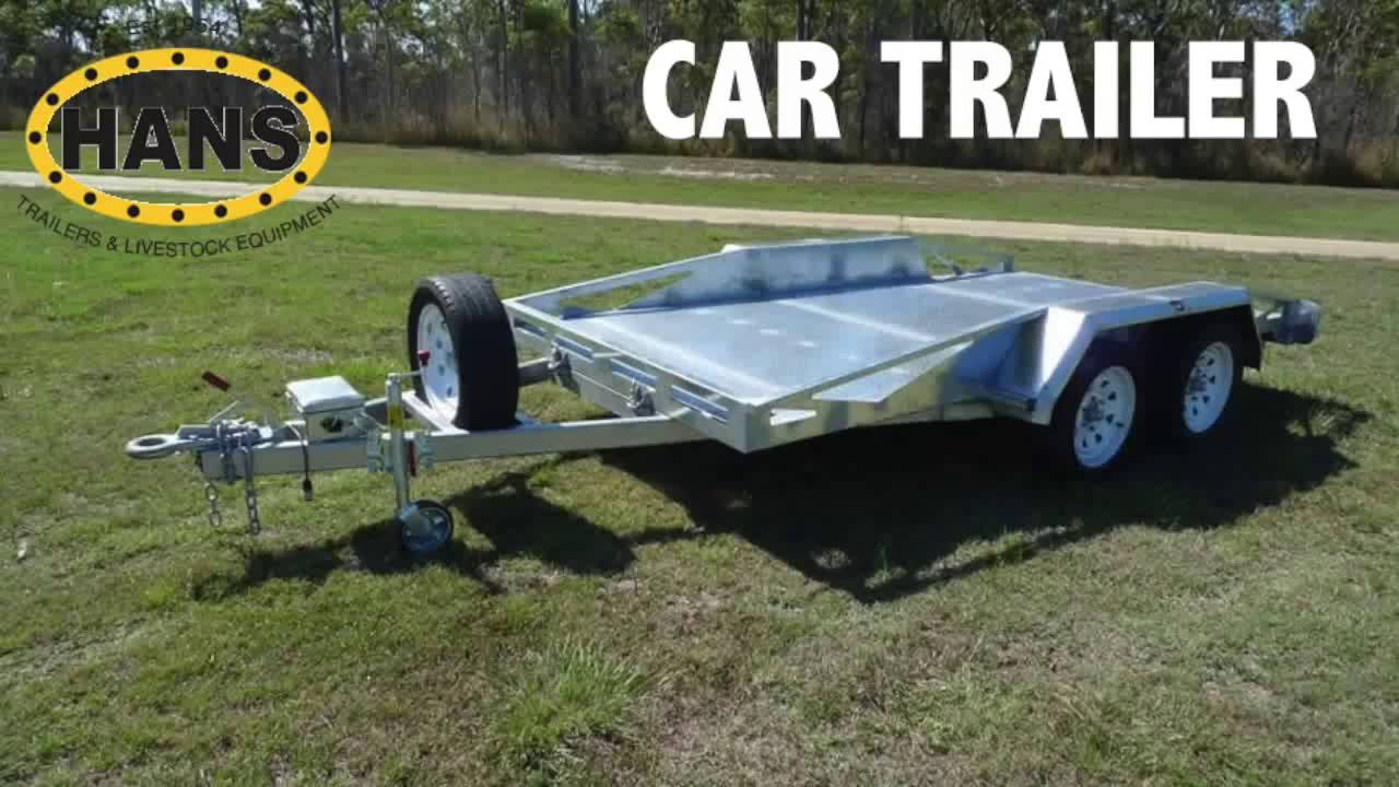 Car Trailers for Sale - New and Custom Made - Brisbane, Queensland ...