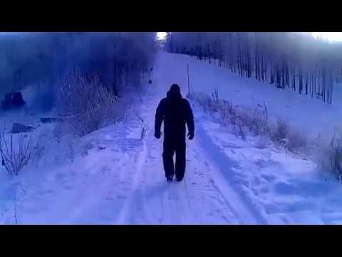 Видео съезда с горки в Пензе