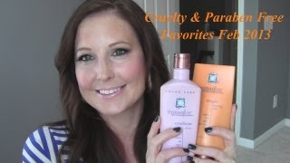 February 2013 Cruelty and Paraben Free Favorites