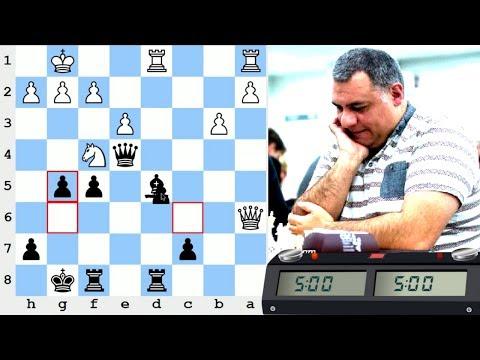 LIVE Blitz (Speed) Chess Game vs IM Joorge