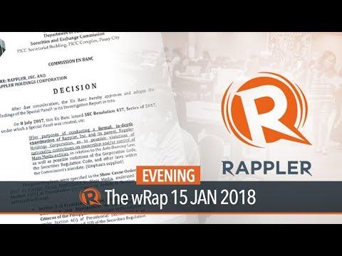 SEC revokes Rappler