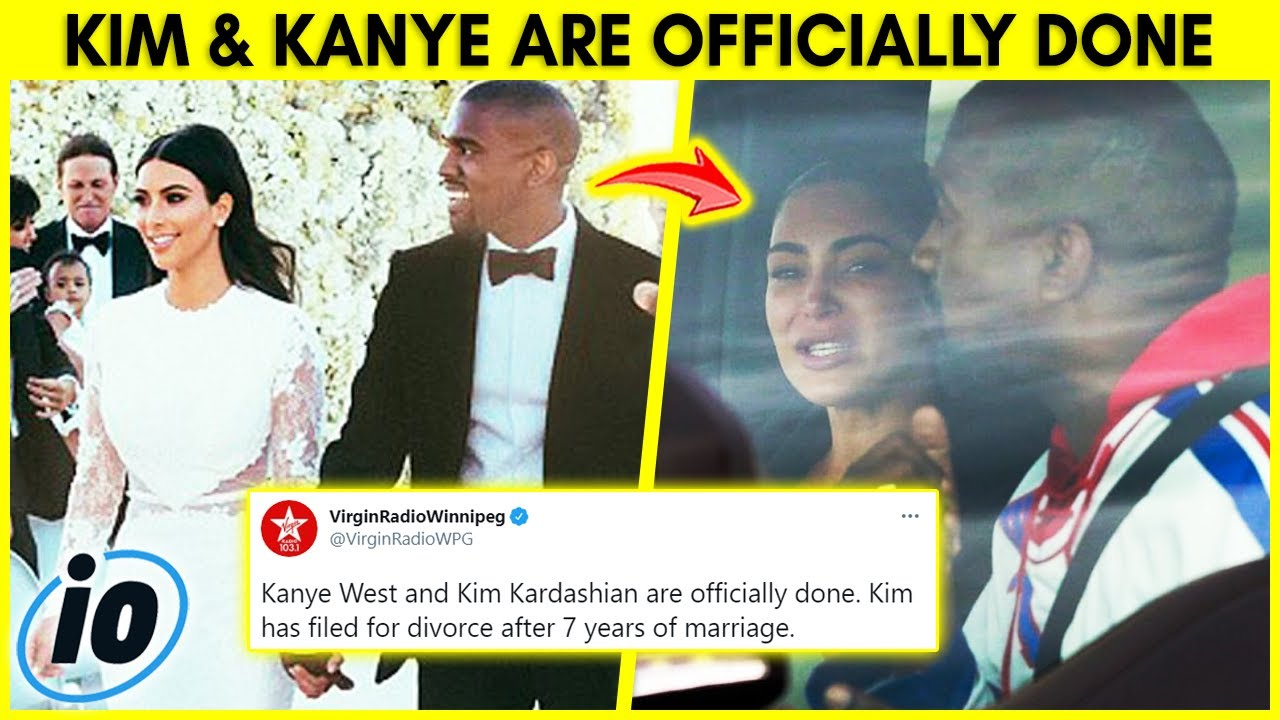 Kim Kardashian And Kanye West Are Officially DONE!